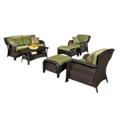 Beachcrest Home Edisto 6 Piece Seating Group with Cushions & Reviews | Wayfair