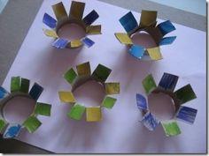 #flower craft #spring #preschool