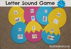 Free Letter Sound Matching Game from Teaching Mama