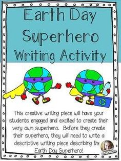Earth Day Superhero FREEBIE!
