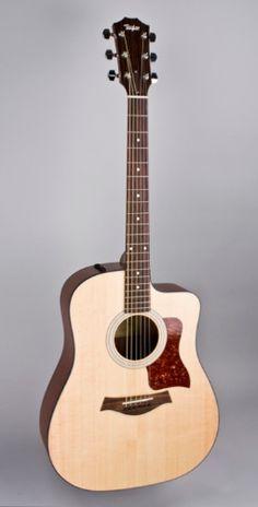 Taylor Guitar - 110CE DREADNAUGHT ACOUSTIC ELECTRIC CUTAWAY W/CASE