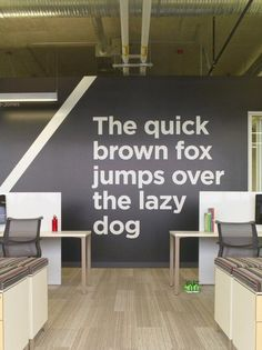 Wall Quotes on the new Adobe Lehi office via http://www.forbes.com