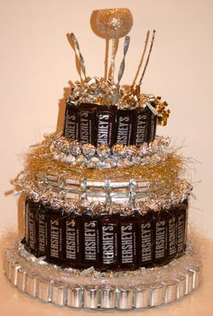 Chocolate Candy Cake by CoveredInCandy on Etsy, $90.00