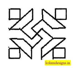 This Kolam Designs is specially for beginners to learn Kolams easily. These Easily Drawn Kolam Designs For Beginners will be helpful to practise and to dra New Rangoli Designs, Festivals Of India, Dots, Decoration, Floral, Home Decor, Stitches, Decor, Decoration Home