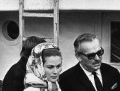 Grace and Rainier of Monaco. 1967.