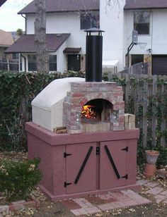 I'm going to be creating this same type of brick oven in our backyard next spring and summer.