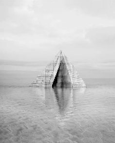 Artist Noemie Goudal Recreates A Nostalgic And Fragile Landscape Of Powerful Buildings And Motionless Water