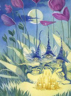 The Elves by Olga Popugaeva and Dmitry Nepomnyastchy