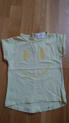 Gelbes Smiley Shirt