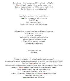 30 Best exo lyrics images | Frases, Pop lyrics, Chanyeol