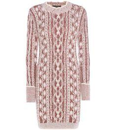 Isabel Marant Mouliné Wool Sweater Dress For Spring-Summer 2017