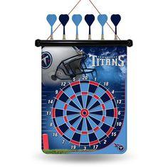 Tennessee Titans Magnetic Dart Board #TennesseeTitans