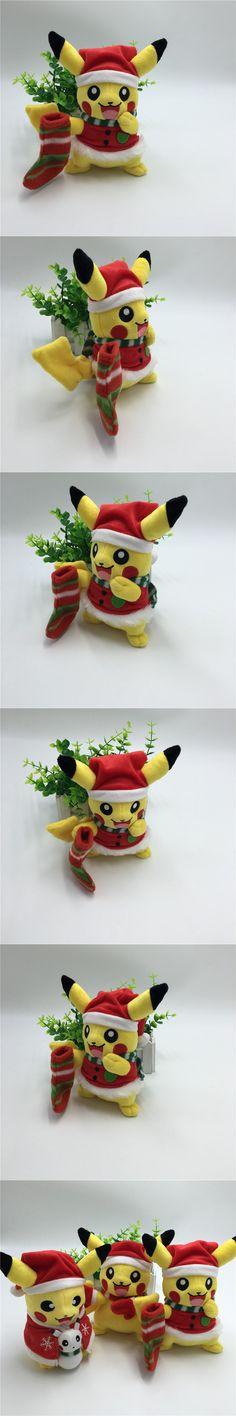 2016 Hot Game Pikachu Cosplay Plush Toys for Children Christmas Gift Pokemon Toys Pokemon Pikachu Stuffed Plush Doll Kids Toy