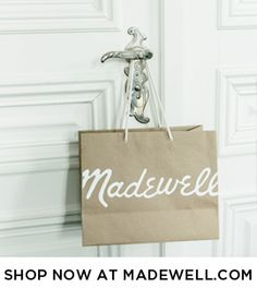 Madewell : Estate Tote hang tag | SLP: Packaging | Pinterest ...
