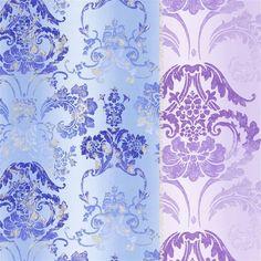 kashgar - amethyst fabric | Designers Guild