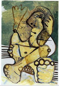 Pablo Picasso - Woman, 1972