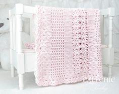 Crochet Baby Blanket PATTERN 146 Crochet PATTERN Elise 146 | Etsy Baby Afghan Crochet Patterns, Baby Blanket Crochet, Baby Patterns, Crochet Baby, Diy Crochet, Diy Bebe, Manta Crochet, Knitted Baby Blankets, Baby Afghans