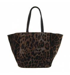 Bolso estilo shopping lona con manchas - Paula Alonso - Tienda online