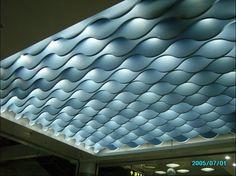 Aluminum Waved Ceiling Design