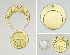 Médaillon des mystérieuses cités d'or <3