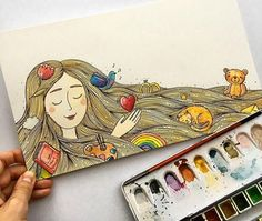 Любимые картинки: 40 иллюстраций от Тани Самошкиной - Ярмарка Мастеров - ручная работа, handmade