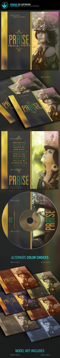 Praise and Prayer CD Artwork  Template