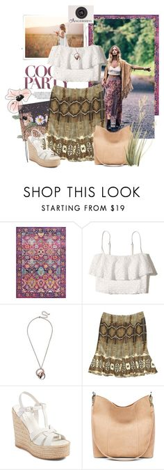 """""""Angieberrys"""" by sierraday ❤ liked on Polyvore featuring Peace and Love by Calao, Leilani, Hollister Co., Roberto Cavalli and Yves Saint Laurent"""