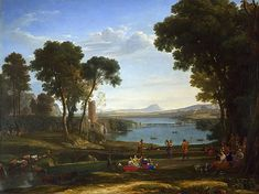 Les noces d'Isaac et de Rébecca, 1648, Claude Lorrain, Londres, National Gallery