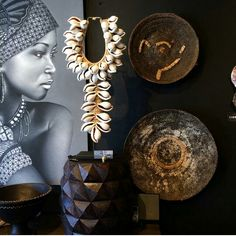 Decoration Ethnic Decor, Tribal Decor, Bali Shopping, Art Tribal, African Home Decor, Style Ethnique, African Art, African Beauty, Elegant Homes