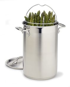 All-Clad Stainless-Steel Asparagus Pot (fixing Spargel tonight & need this lol)