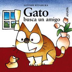 Gato busca un amigo, de Satoshi Kitamura.jpg (1000×1000)
