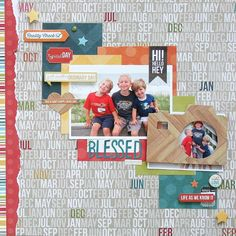 Blessed Everyday **Simple Stories** - Scrapbook.com