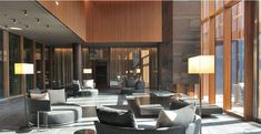 The evolving design of 1wtc freedom tower lobby for Design hotel mosca