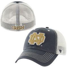 aadca4d6d8cfd  47 Brand Notre Dame Fighting Irish Navy Blue Taylor Closer Flex Hat