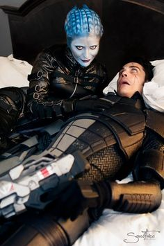 Rana McAnear and Mark Meer | Dragoncon 2013 - Romancing Morinth never ends well.