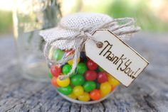Rustic Wedding Favor Thank You Tags Set of 50 by RiverRoadRustics, $55.00