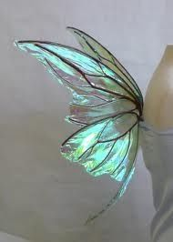 Luminous turquoise butterfly