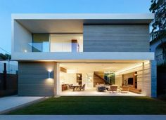Crescent Drive Home por Ehrlich Yanai Rhee Chaney Architects - arq casa CZ - Fachadas
