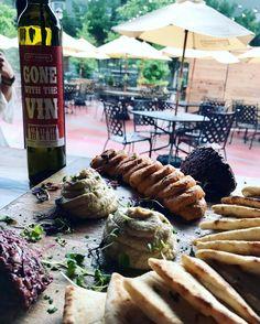 Lovely night at @citywineryatl @poncecitymarket with #diningoutatlambassador squad! Delicious #Mediterranean platter with Cabernet Franc. @senadolski @smwrightt @appetizing_atl @dinewithdani @askwame @peachyatoit @datingwithpassports #diningoutatl #winewednesday #winerytour #winetasting #food #foodporn #foodstagram
