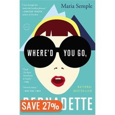 Listen to Where'd You Go, Bernadette Audiobook by Maria Semple, narrated by Kathleen Wilhoite Top Ten Books, Books To Read, My Books, Kathleen Wilhoite, Whered You Go Bernadette, Good New Books, Beach Reading, Happy Reading, Reading Material