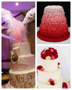Winter Wedding Inspiration: Pale Pink and Red on itsabrideslife.com/Red and Pink Wedding/Pink and Red Wedding