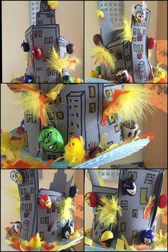 Boys Easter Hat, Easter Bonnets For Boys, Easter Hat Parade, Easter Hunt, Easter Eggs, Crazy Hat Day, Crazy Hats, Easter Egg Designs, Easter Crafts