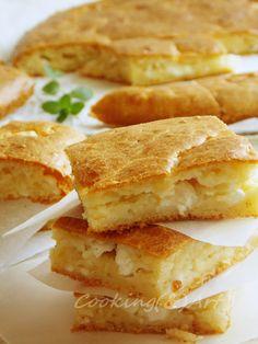 Τυρόψωμο με αυγά / Easy cheese bread with eggs