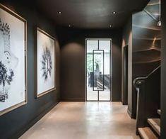 Villa jaren 30 in Hilversum - Villa jaren 30 in Hilversum - Home Interior Design, Interior Architecture, Interior And Exterior, Villa Design, House Design, Flur Design, Dark Interiors, Lofts, Cheap Home Decor