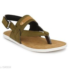 Sandals Men's Casual Sandal  *Material* Sole Material - PU, Outer Material -  Suede  *IND Size* IND - 6, IND - 7, IND - 8, IND - 9, IND - 10  *Description* It Has 1 Pair Of Men's Casual Sandals  *Sizes Available* IND-6, IND-7, IND-8, IND-9, IND-10 *   Catalog Rating: ★4 (598)  Catalog Name: Casual Trendy Men's Casual Sandals Vol 3 CatalogID_173214 C67-SC1238 Code: 154-1346834-999