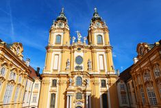 Melk Abbey, Austria. We stopped here on a 9-day Danube River Cruise. Easily one of the most stunning places I have ever been!