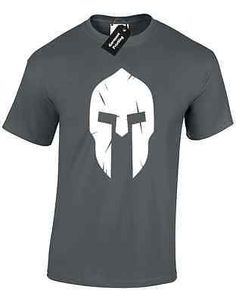 Spartan #helmet 2 mens t shirt #training #workout top bodybuilding mma gym fitnes, View more on the LINK: http://www.zeppy.io/product/gb/2/282188419441/