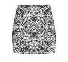Indian Pattern Mini Skirt