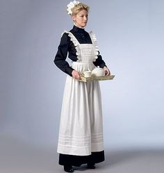 Image result for maid costume england old lady
