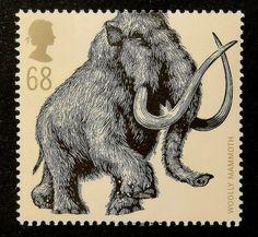 14095  Encadré timbre-poste Art  Wolly par PassionGiftStampArt